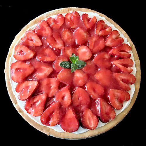 Other Side of Fifty: Strawberry Dessert Pizza (Treats For Co-Irkers ...