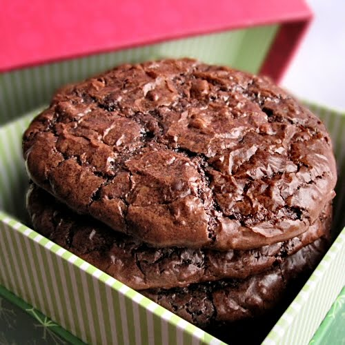 The Other Side of Fifty: Flourless Chocolate Cookies (CWF)
