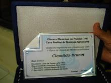 SESSÂO SOLENE NA CÂMARA MUNICIPAL DE POMBAL EM 14-11-07.