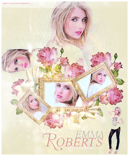 Emma Roberts collage no PFS