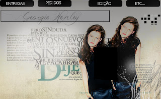 Georgie Henley banner no photofiltre studio