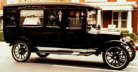 1922 Henney Hearse ~