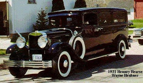 1931 Henney Hearse ~