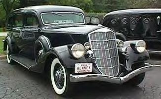 1934 Pierce Arrow Henney Arrowline Hearse ~