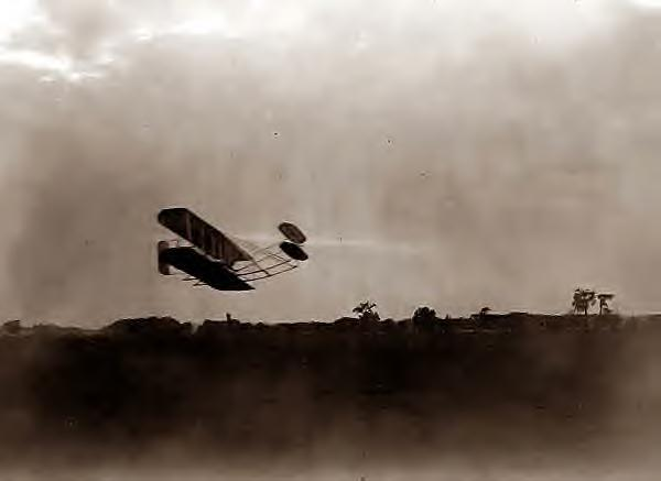 Wright Bros flight 45. 1905