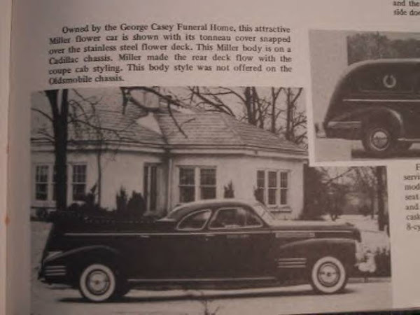 1941 Cadillac Flower Car ~