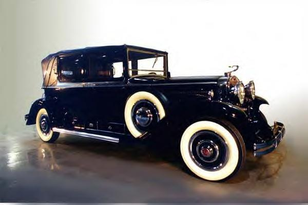 1930 Cadillac Kellner Open Front Town Car ~