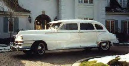 1948 Chrysler Windsor Limo ~