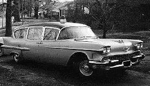 1958 Cadillac Hearse-Ambulance Combo ~