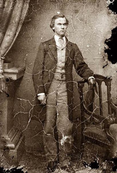 John Milton Hay, 1855.