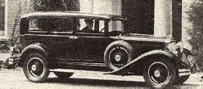 1929 Studebaker President 8 State Limo ~