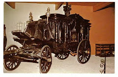 Old Spanish Horsedrawn Hearse ~