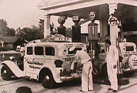 1930s Torture test Gas Station photo