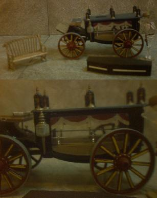 1876 Horse Drawn Hearse ~