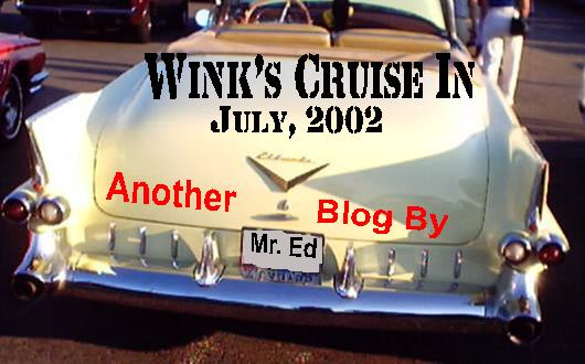 Wink's Cruise In, July, 2002
