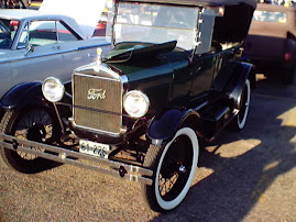 Early 1920s Model T Ford Touring Car