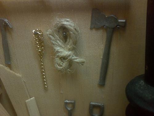 Chain, Rope & Hachet