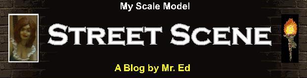 My Scale Model Street Scene