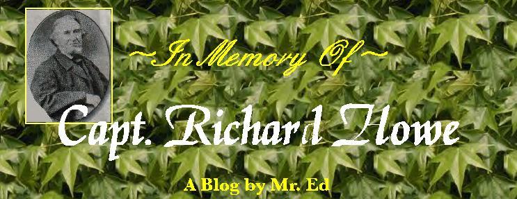 In Memory of Capt. Richard Howe