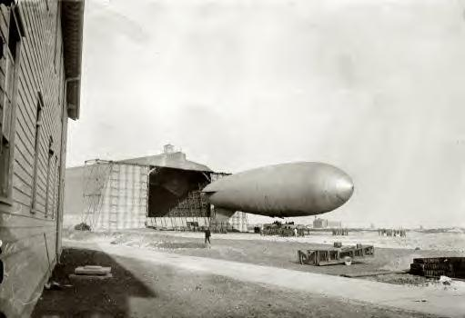 New York, March 22, 1915. Navy dirigible, Long Island
