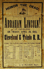 Lincoln Funeral Broadside