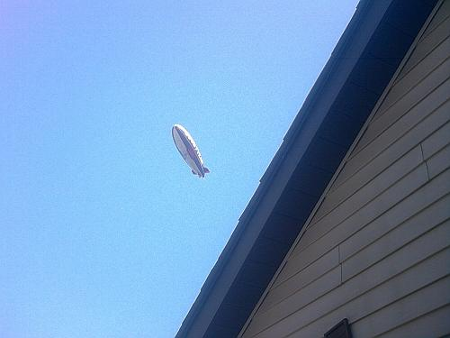April 17, 2009 ~Flying Over Our House~