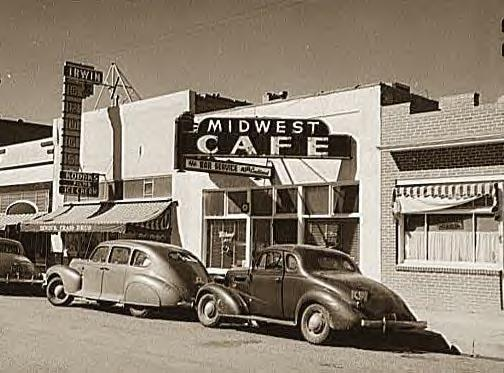 Midwest Cafe, Craig, Col., 1941
