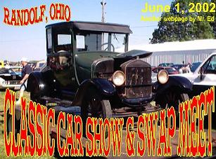 Click picture for the Randolf, Ohio Swap Meet, June 1, 2002