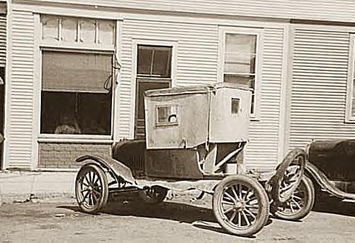 Automobile, Cook, Minnesota, 1937