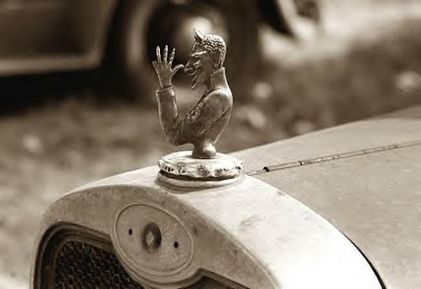 Devil Radiator Cap, Laurel, Miss., 1938