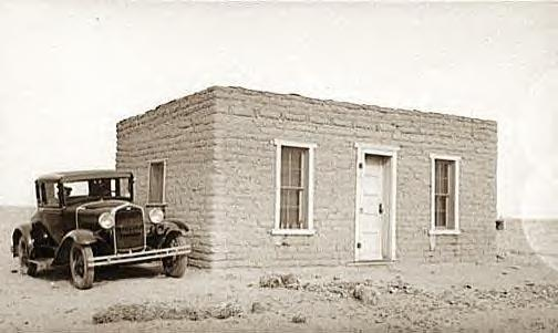 Adobe house, LasCruces, New Mexico, 1936