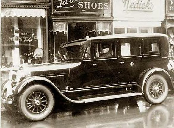 Calvin Coolidge's new automobile, 1927