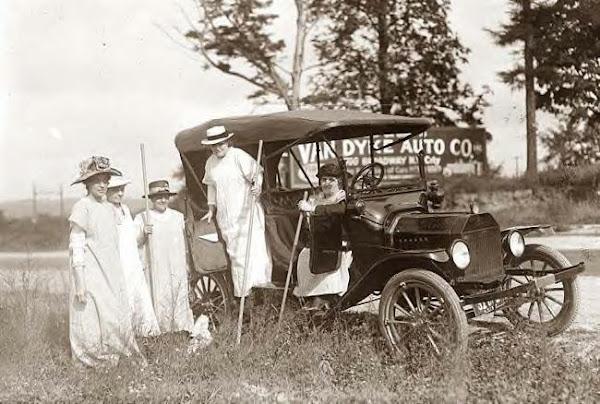 Ladies & Model T
