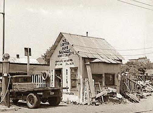 Auto Salvage, Muskogee, Okla., 1939