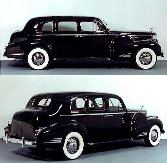 W.C. Fields' Cadillac Limousine