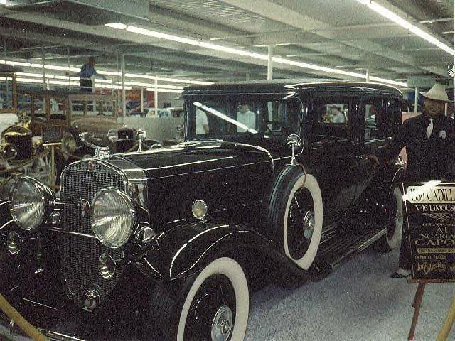 Al Capone's bullet-proof Cadillac sedan
