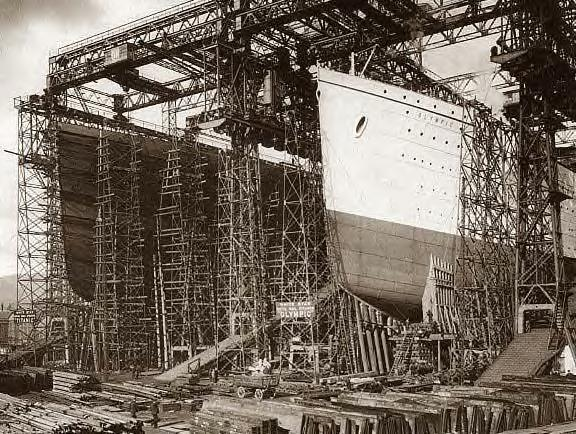 1909. Construction. The Titanic Is Born ~