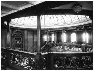 1st Class Upper Grand Staircase with Skylight Dome