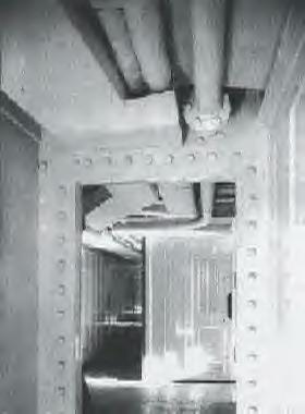 Crew Passageway Leading To Deck