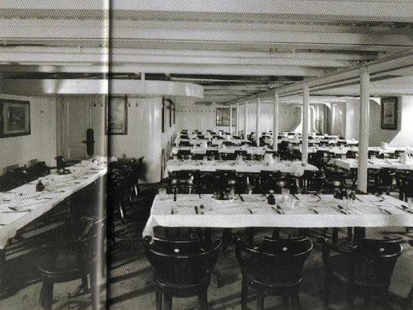 3rd Class Dinning Room, F Deck
