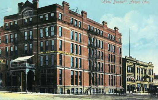 Buchtel Hotel 1909