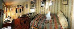 The room in the Peterson house where Lincoln died