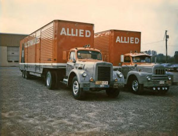 Allied Van Lines Trucks 1968