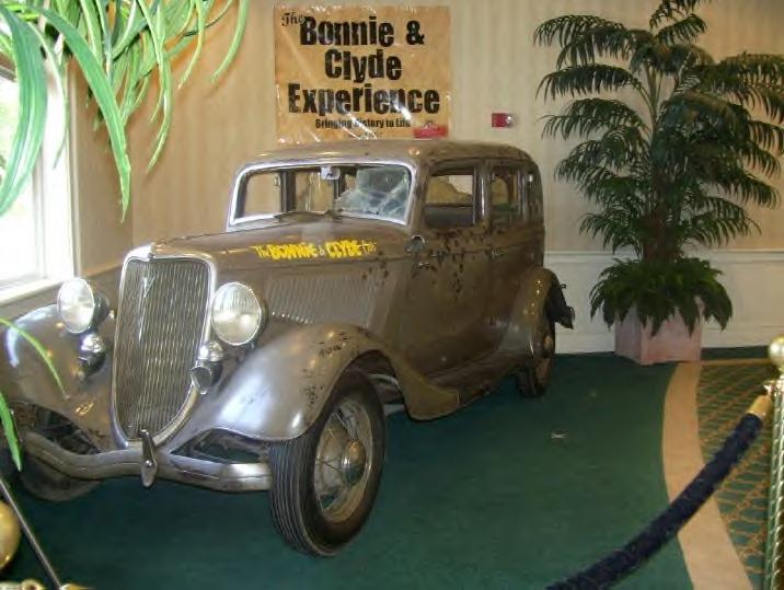 Bonnie & Clyde's death car