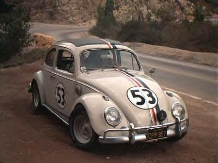 Herbie, the Love Bug. From the Disney films