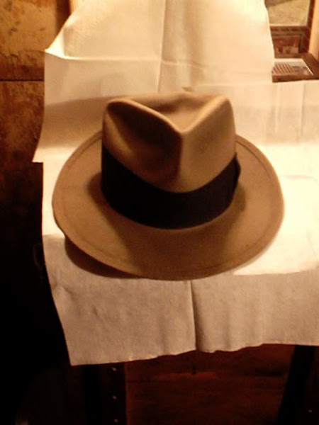 Hat worn by Robert Stack in the original Untouchables TV show