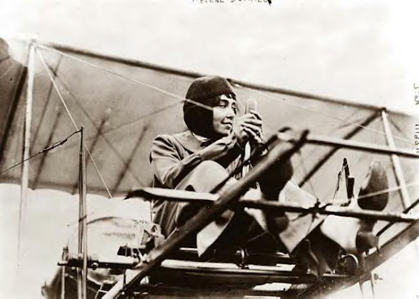 Helene Dutrieu. 1911