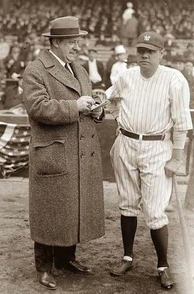 Babe Ruth & H.W. VanLean. Undated