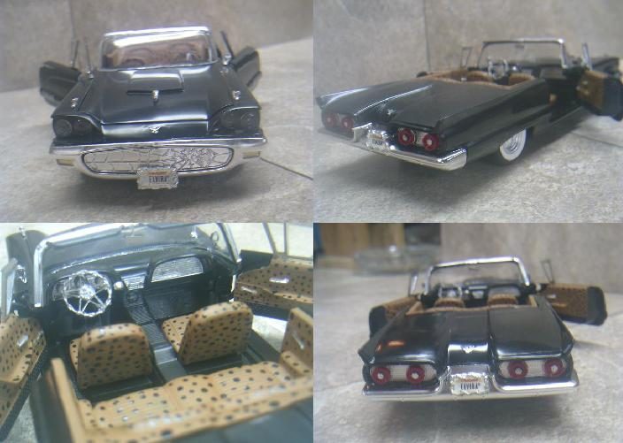 Elvira's T Bird http://mredcarcollection.blogspot.com/