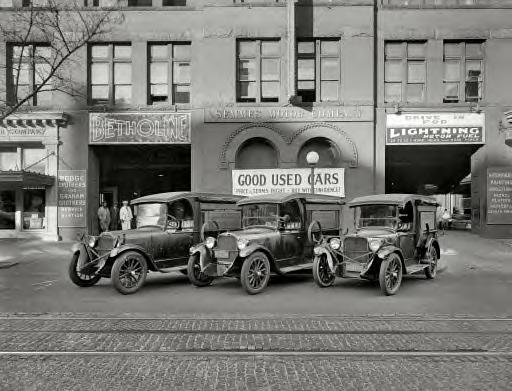 Washington, D.C., 1927. Cross trucks, Semmes Motor Co.